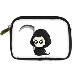 Cute Grim Reaper Digital Camera Cases by Valentinaart