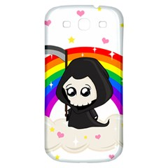 Cute Grim Reaper Samsung Galaxy S3 S Iii Classic Hardshell Back Case by Valentinaart