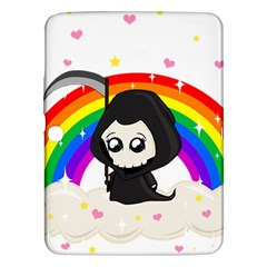 Cute Grim Reaper Samsung Galaxy Tab 3 (10 1 ) P5200 Hardshell Case  by Valentinaart
