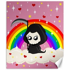 Cute Grim Reaper Canvas 20  X 24   by Valentinaart