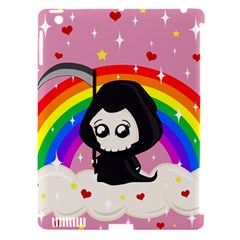 Cute Grim Reaper Apple Ipad 3/4 Hardshell Case (compatible With Smart Cover) by Valentinaart
