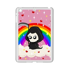 Cute Grim Reaper Ipad Mini 2 Enamel Coated Cases by Valentinaart