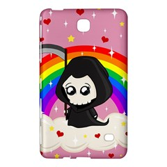 Cute Grim Reaper Samsung Galaxy Tab 4 (8 ) Hardshell Case  by Valentinaart