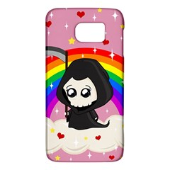 Cute Grim Reaper Galaxy S6 by Valentinaart