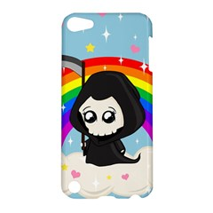 Cute Grim Reaper Apple Ipod Touch 5 Hardshell Case by Valentinaart