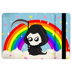 Cute Grim Reaper Ipad Air 2 Flip by Valentinaart