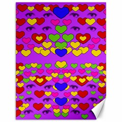 I Love This Lovely Hearty One Canvas 12  X 16   by pepitasart