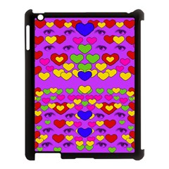 I Love This Lovely Hearty One Apple Ipad 3/4 Case (black) by pepitasart