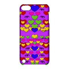 I Love This Lovely Hearty One Apple Ipod Touch 5 Hardshell Case With Stand by pepitasart