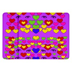 I Love This Lovely Hearty One Samsung Galaxy Tab 8 9  P7300 Flip Case by pepitasart
