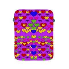 I Love This Lovely Hearty One Apple Ipad 2/3/4 Protective Soft Cases by pepitasart