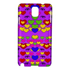 I Love This Lovely Hearty One Samsung Galaxy Note 3 N9005 Hardshell Case by pepitasart