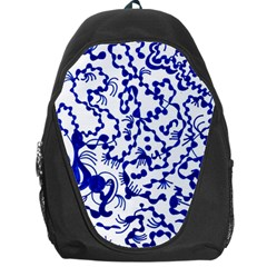 Dna Square  Stairway Backpack Bag by MRTACPANS