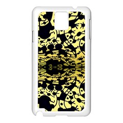 Dna Diluted Samsung Galaxy Note 3 N9005 Case (white) by MRTACPANS