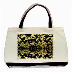 Dna Mirroir Basic Tote Bag (two Sides) by MRTACPANS