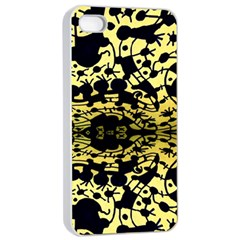 Dna Mirroir Apple Iphone 4/4s Seamless Case (white) by MRTACPANS