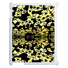 Dna Mirroir Apple Ipad 2 Case (white) by MRTACPANS