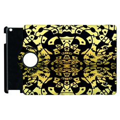 Dna Round Off Apple Ipad 2 Flip 360 Case by MRTACPANS