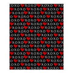 Xoxo Valentines Day Pattern Shower Curtain 60  X 72  (medium)  by Valentinaart