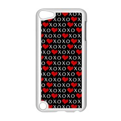 Xoxo Valentines Day Pattern Apple Ipod Touch 5 Case (white) by Valentinaart