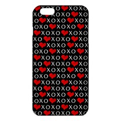 Xoxo Valentines Day Pattern Iphone 6 Plus/6s Plus Tpu Case by Valentinaart