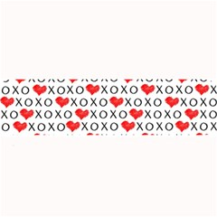 Xoxo Valentines Day Pattern Large Bar Mats by Valentinaart