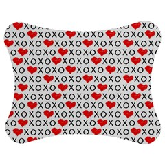 Xoxo Valentines Day Pattern Jigsaw Puzzle Photo Stand (bow)