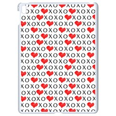 Xoxo Valentines Day Pattern Apple Ipad Pro 9 7   White Seamless Case by Valentinaart