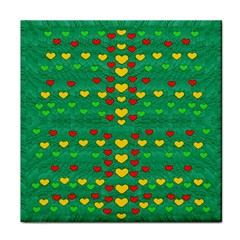 Love Is In All Of Us To Give And Show Tile Coasters by pepitasart