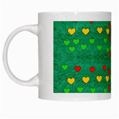 Love Is In All Of Us To Give And Show White Mugs by pepitasart