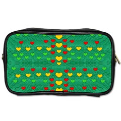 Love Is In All Of Us To Give And Show Toiletries Bags 2 Side by pepitasart