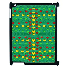 Love Is In All Of Us To Give And Show Apple Ipad 2 Case (black) by pepitasart
