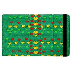 Love Is In All Of Us To Give And Show Apple Ipad 3/4 Flip Case by pepitasart