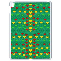 Love Is In All Of Us To Give And Show Apple Ipad Pro 9 7   White Seamless Case by pepitasart