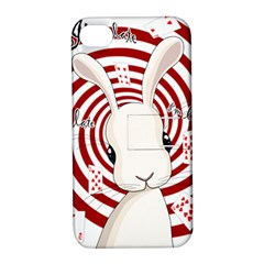White Rabbit In Wonderland Apple Iphone 4/4s Hardshell Case With Stand