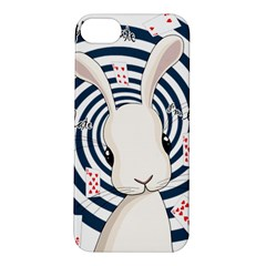 White Rabbit In Wonderland Apple Iphone 5s/ Se Hardshell Case