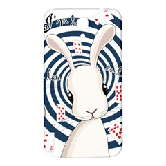 White Rabbit In Wonderland Samsung Galaxy Mega I9200 Hardshell Back Case by Valentinaart