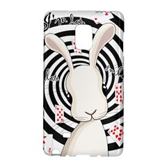 White Rabbit In Wonderland Galaxy Note Edge by Valentinaart