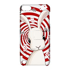 White Rabbit In Wonderland Apple Ipod Touch 5 Hardshell Case With Stand