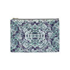 Modern Collage Pattern Mosaic Cosmetic Bag (medium)  by dflcprints