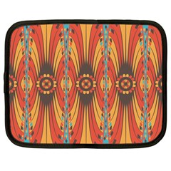 Geometric Extravaganza Pattern Netbook Case (xxl)  by linceazul