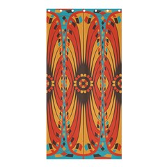 Geometric Extravaganza Pattern Shower Curtain 36  X 72  (stall)  by linceazul