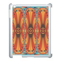 Geometric Extravaganza Pattern Apple Ipad 3/4 Case (white) by linceazul