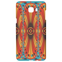 Geometric Extravaganza Pattern Samsung C9 Pro Hardshell Case  by linceazul