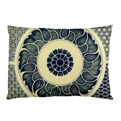 Background Vintage Japanese Pillow Case by Nexatart