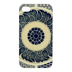 Background Vintage Japanese Apple Iphone 4/4s Premium Hardshell Case
