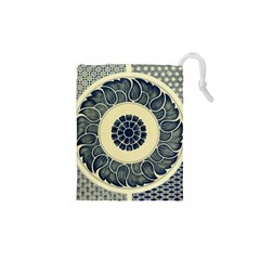 Background Vintage Japanese Drawstring Pouches (xs)  by Nexatart