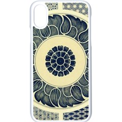 Background Vintage Japanese Apple Iphone X Seamless Case (white)