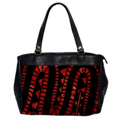 Background Abstract Red Black Office Handbags