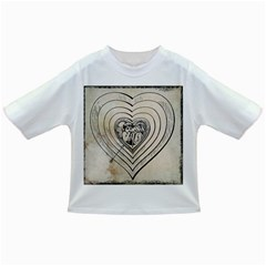 Heart Drawing Angel Vintage Infant/toddler T Shirts